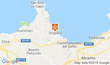Mappa Scopello Appartamento 112787
