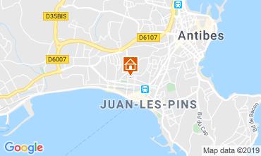 Mappa Juan les Pins Appartamento 116732