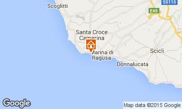 Mappa Marina di Ragusa Appartamento 100412
