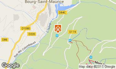 Mappa Les Arcs Appartamento 191