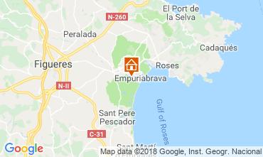 Mappa Empuriabrava Villa  61447
