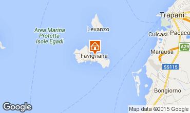 Mappa Favignana Appartamento 87284
