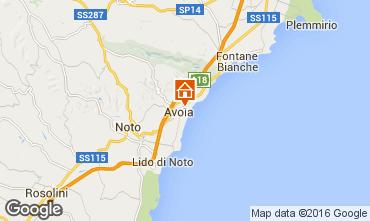 Mappa Avola Villa  50885