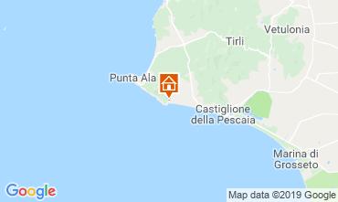 Mappa Castiglione della Pescaia Appartamento 89159