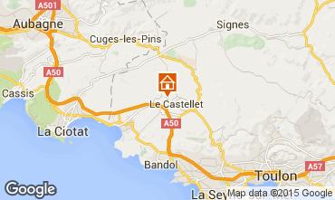Mappa Le Castellet Villa  95709