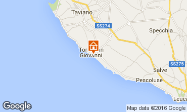 Mappa Ugento - Torre San Giovanni Appartamento 102771