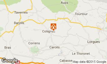 Mappa Cotignac Casa 92890