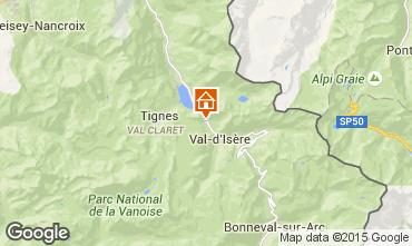 Mappa Val d'Isère Appartamento 3351