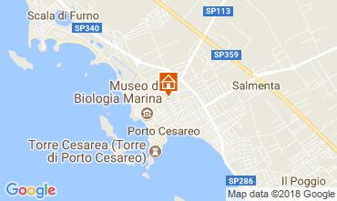 Mappa Porto Cesareo Villa  114807