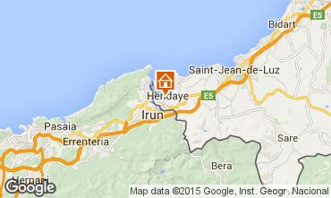 Mappa Hendaye Appartamento 98553