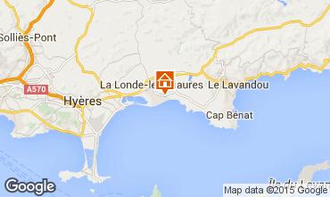Mappa La Londe les Maures Appartamento 68566