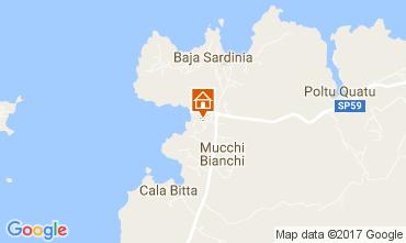 Mappa Baja Sardinia Appartamento 97464