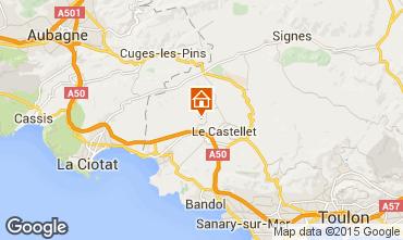Mappa La Cadi�re d'Azur Villa  94596