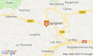 Mappa Draguignan Villa  119257