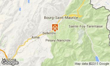 Mappa Les Arcs Chalet 95566