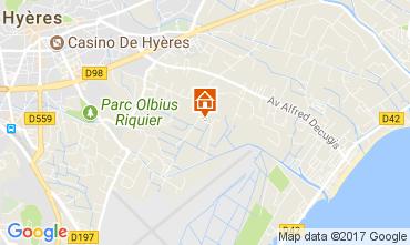 Mappa Hyères Villa  76796