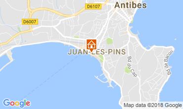 Mappa Juan les Pins Appartamento 65540