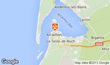 Mappa Arcachon Appartamento 75914