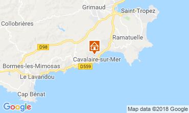 Mappa Cavalaire-sur-Mer Appartamento 116521