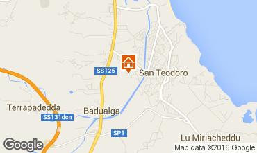 Mappa San Teodoro Appartamento 71809