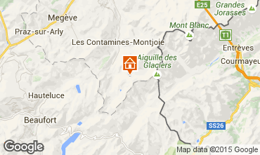 Mappa Les Contamines Montjoie Monolocale 929