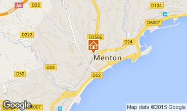 Mappa Menton (Mentone) Appartamento 96723