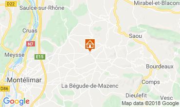 Mappa Dieulefit Agriturismo 115038