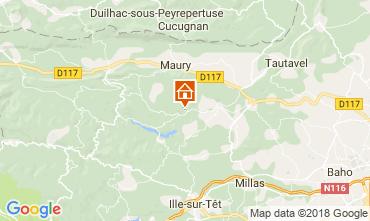 Mappa Perpignan Villa  115619