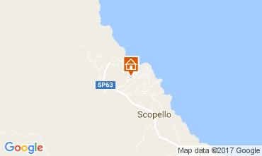 Mappa Scopello Villa  80024