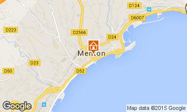 Mappa Menton (Mentone) Appartamento 91364