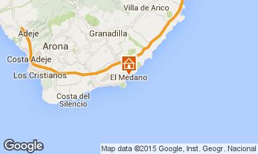 Mappa El Medano Appartamento 83636