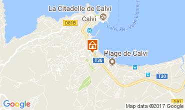 Mappa Calvi Monolocale 112538