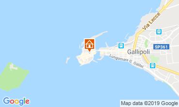 Mappa Gallipoli Appartamento 116172