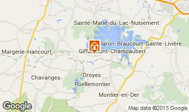 Mappa Giffaumont-Champaubert Agriturismo 12632