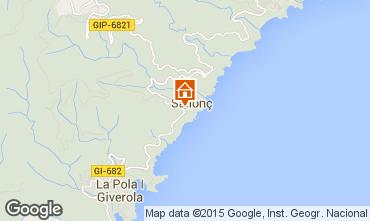 Mappa Tossa de Mar Appartamento 81181