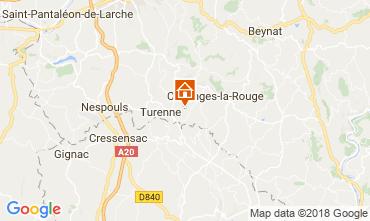 Mappa Brive-la-Gaillarde Casa 115407