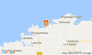 Mappa Plouguerneau Appartamento 11362