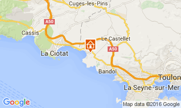 Mappa Saint Cyr sur Mer Monolocale 89046