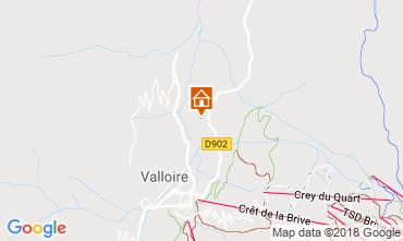 Mappa Valloire Appartamento 116671
