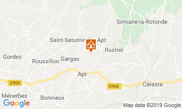 Mappa Roussillon Agriturismo 119396