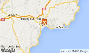 Mappa Fréjus Appartamento 8488