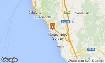 Mappa Castiglioncello Appartamento 90804