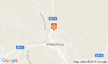 Mappa Villasimius Casa 113165