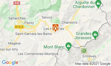 Mappa Chamonix Mont-Blanc (Monte Bianco) Chalet 1412