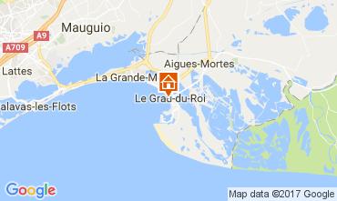 Mappa Le Grau du Roi Appartamento 110385