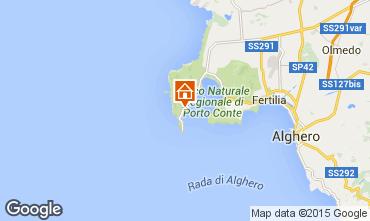 Mappa Alghero Villa  57483