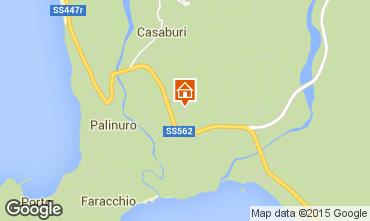 Mappa Palinuro Appartamento 36722