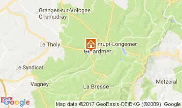 Mappa Gérardmer Chalet 108389