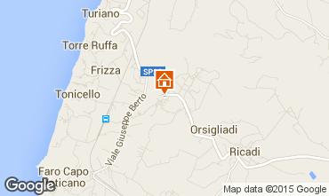 Mappa Capo Vaticano Appartamento 58928