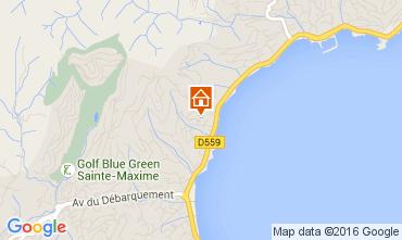 Mappa Sainte Maxime Appartamento 97813